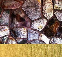 Stone and Brushed Gold by incessantly-you