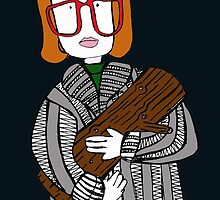 twin peaks log lady by geegalaxy