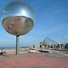 Europe's largest mirror ball  by trickyruby