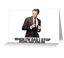 The Awesomeness that is Barney Stinson Greeting Card