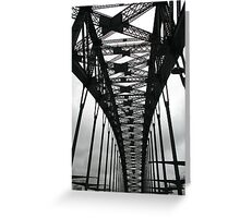 Under the span Greeting Card