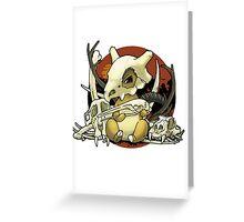 Cubone Greeting Card
