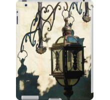 Old vintage metal street lantern lamp iPad Case/Skin