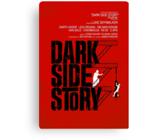 Dark Side Story Canvas Print