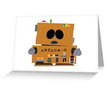 AWESOMO 2000 Greeting Card