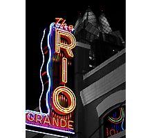 Rio Grande Lights Photographic Print