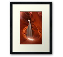 God Beam Framed Print