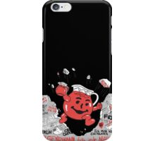 Kool-aid Man Vs Oppression - Tearing Down the Berlin Wall With Flavor iPhone Case/Skin