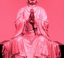 Pink Buddha by Shara