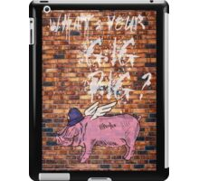What's Your Gig Pig? - wall iPad Case/Skin