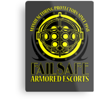 Failsafe Armored Escorts worn Metal Print