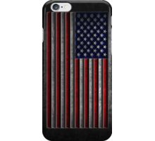 American Flag Stone Texture iPhone Case/Skin