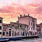 Venice sunset by LadyFi