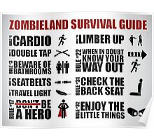 Zombieland Survival Guide Poster