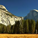 Autumn at Half Dome by Karin  Hildebrand Lau