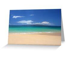 Makena Beach Greeting Card