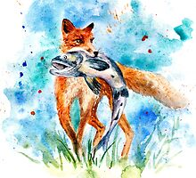Fox by AnnaShell