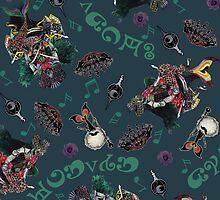 Sayaka / Witch Octavia pattern - Madoka Magica by Aiysle
