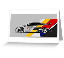 Cadillac CTS V Coupe Race Car Greeting Card