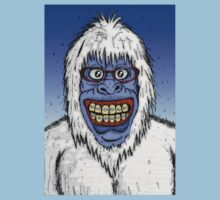 Ugly Yeti by Malcolm Kirk