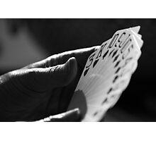 CARD SHARK Photographic Print
