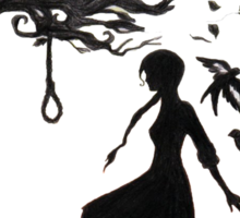 The Hanging Tree - Hunger Games Sticker