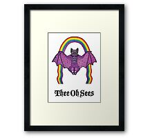 Thee Oh Sees  Framed Print