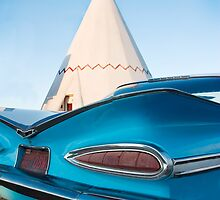 Fin's at the Teepee  by Bob Estrin