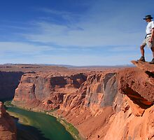 Grand Canyon Overlook by Christophe Testi