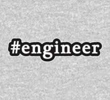 Engineer - Hashtag - Black & White Kids Clothes