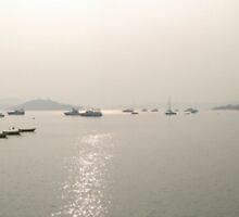 River in Hong Kong by Dennis Mak