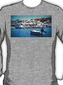 Feeling Nostalgic On The Water In Mykonos, Greece T-Shirt