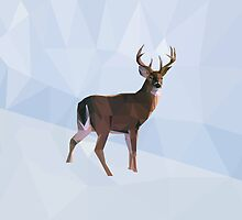 Reindeer winter wonderland by StudioRenate