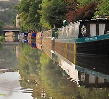 Peaceful Moorings by Philip Baines