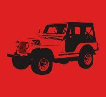 Teen Wolf - Stiles' Jeep Kids Clothes