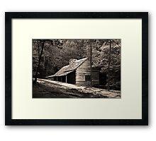 Smoky Mountain Hideaway  Framed Print
