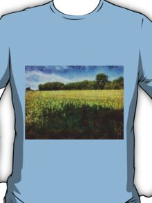 Green wheat field T-Shirt