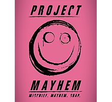 Project Mayhem Photographic Print