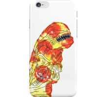 Pizza Chest Buster iPhone Case/Skin