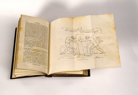 Foldout from a Treatise On Painting by Publication In The Moment