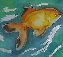 Gold Fish by EmmajBrooks