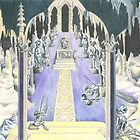 Moria - The Tomb of Balin by Cristina  Marsi