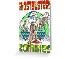 Zombie Ghostbusters Greeting Card