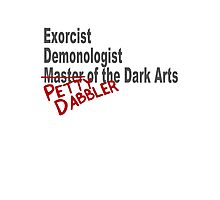 Petty Dabbler Photographic Print