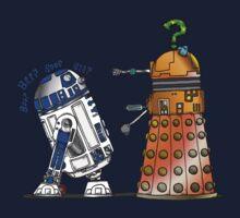 R2D2 meets a Dalek Kids Clothes