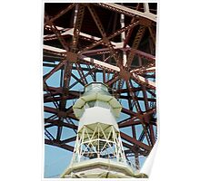 < Fort Point Lighthouse > Poster