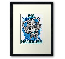 Rest In Peace Handles Framed Print