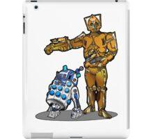 R2-Dalek2 & Cyber3PO iPad Case/Skin