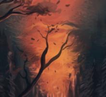 Thru the Forest Sticker