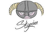 Skyrim Photographic Print